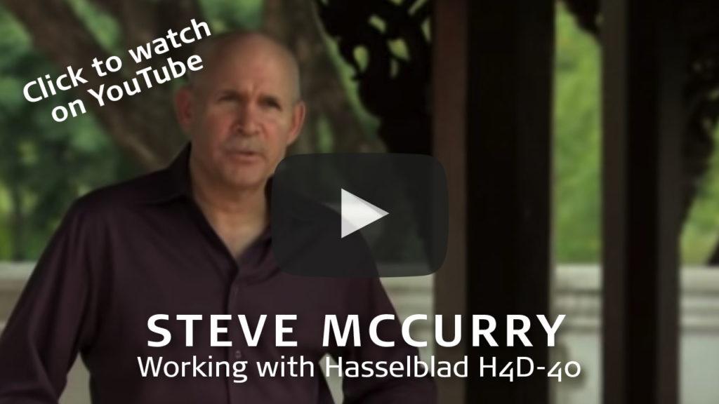 Thumbnail Steve McCurry Hasselblad H4D-40 video