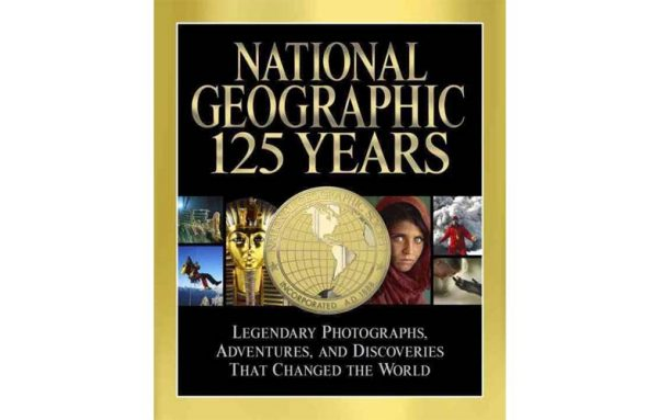 Cover 125 years of National Geographic