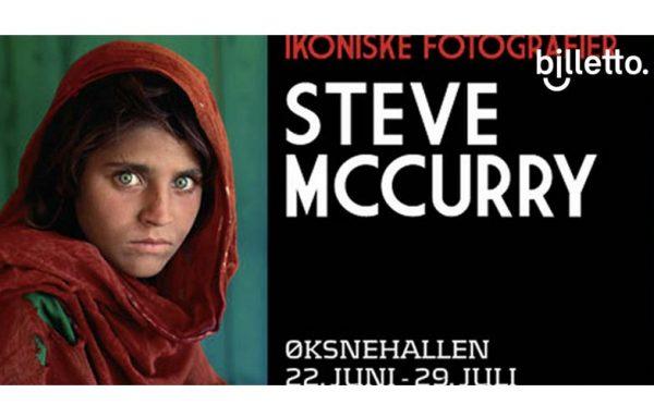 Ad Steve McCurry exhibition Oksnehallen