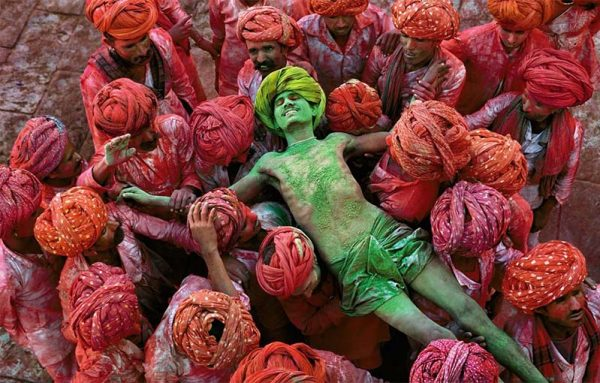 Holy Festival, India, by Steve McCurry