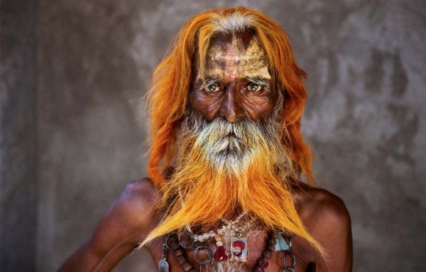 Holy Man, India, by Steve McCurry